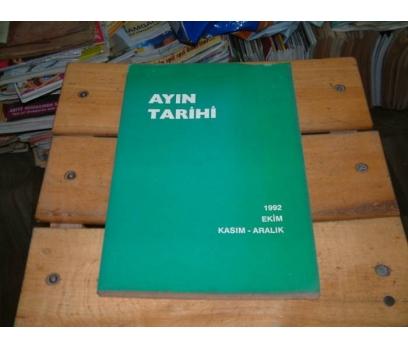 İLKSAHAF&AYIN TARİHİ-1992-EKİM KASIM ARALIK