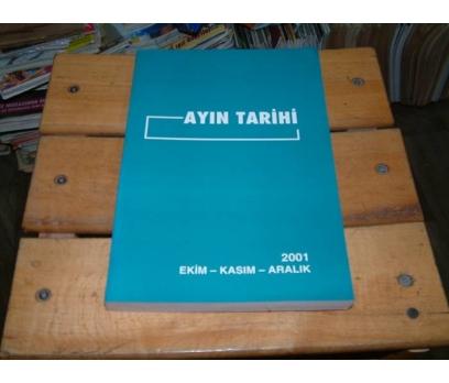 İLKSAHAF&AYIN TARİHİ-2001-EKİM KASIM ARALIK