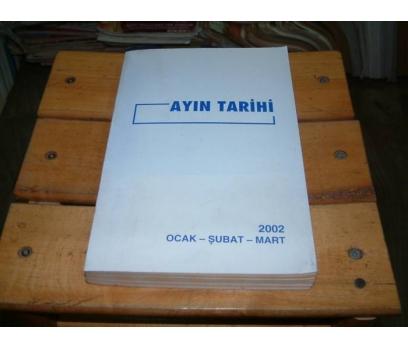 İLKSAHAF&AYIN TARİHİ-2002-OCAK ŞUBAT MART