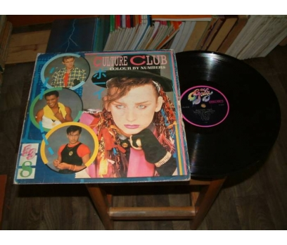 İLKSAHAF&CULTURE CLUB-COLOUR BY NUMBERS-LP PLAK