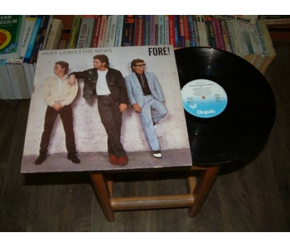 İLKSAHAF&HUEY LEWIS AND THE NEWS-FORE-LP PLAK