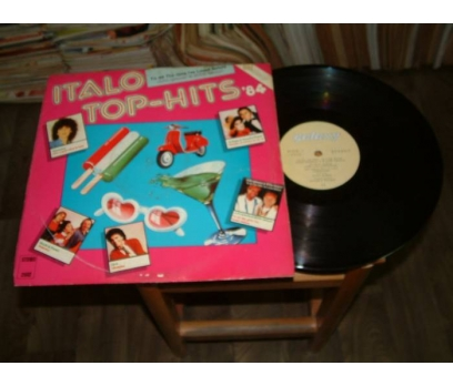 İLKSAHAF&ITALO TOP HITS 84-LP PLAK 1 2x