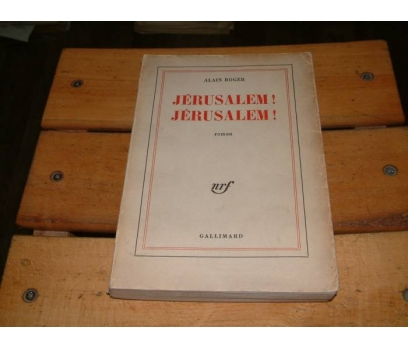 İLKSAHAF&JERUSALEM! JERUSALEM!-ALAIN ROGER