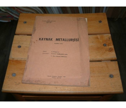 İLKSAHAF&KAYNAK METALLURJİSİ