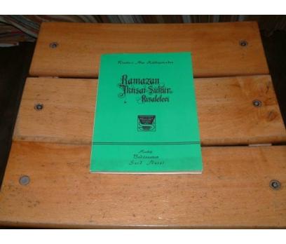 İLKSAHAF&RAMAZAN İKTİSAT ŞÜKÜR RİSALELERİ
