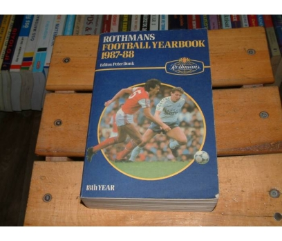 İLKSAHAF&ROTHMANS FOOTBALL YEARBOOK 1987-1988