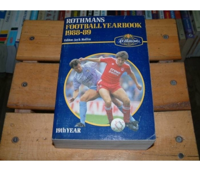 İLKSAHAF&ROTHMANS FOOTBALL YEARBOOK 1988-1989