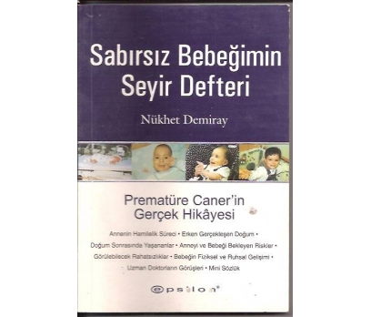 İLKSAHAF&SABIRSIZ BEBEĞİMİN SEYİR DEFTERİ-NÜKHET
