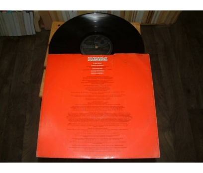 İLKSAHAF&SCOPIONS-SAVAGE AMUSEMENT-LP PLAK