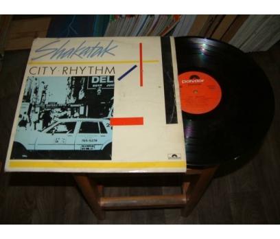 İLKSAHAF&SHAKATAK-CITY RHYTHM-LP PLAK