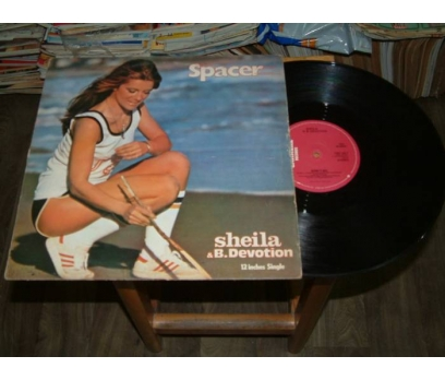 İLKSAHAF&SHEILA&B. DEVOTION-SPACER-LP PLAK