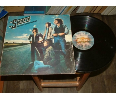 İLKSAHAF&SMOKIE-THE OTHER SIDE OF ROAD-LP PLAK