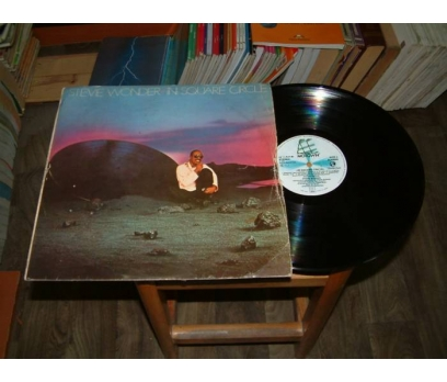 İLKSAHAF&STEVIE WONDER-IN SQARE CIRCLE-LP PLAK