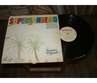 İLKSAHAF&SUPER SANREMO 85 - LP PLAK