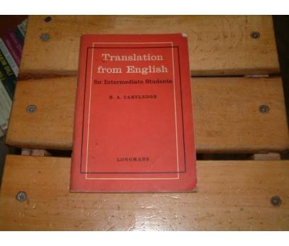 İLKSAHAF&TRANSLATION FROM ENGLISH
