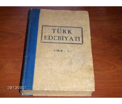 İLKSAHAF&TÜRK EDEBİYATI-CİLT 1