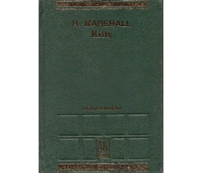 İLKSAHAF@KİTTY R.MARSHALL AK KİTABEVİ 1971