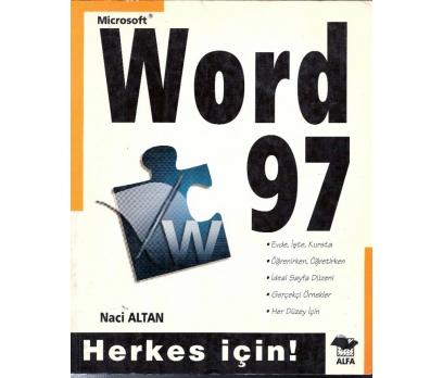 İLKSAHAF@MİCROSOFT WORD 97 NACİ ALTAN