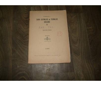 OSMANLI TARİH DEYİMLERİ VE TERİM-SÖZ--III-FAS.18