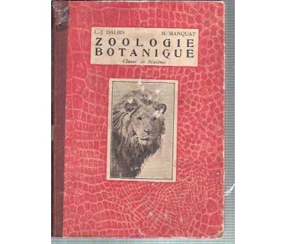ZOOLOGİE ET BOTANIQUE-L.-J.DALBIS-M.MANQUAT-1934