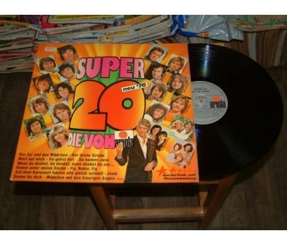 İLKSAHAF&SUPER 20 DİE VON ARİOLA-LP PLAK