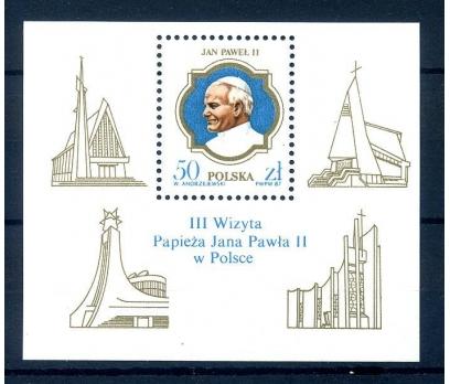 POLONYA ** 1987 PAPA II. J.PAUL BLOK (260814)