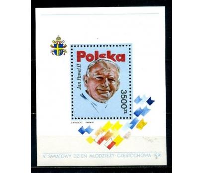 POLONYA ** 1991 PAPA II.J.PAUL BLOK (270814)
