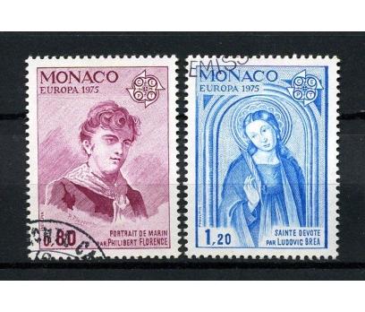 MONAKO İGD 1975 EUROPA CEPT TAM SERİ (080914)