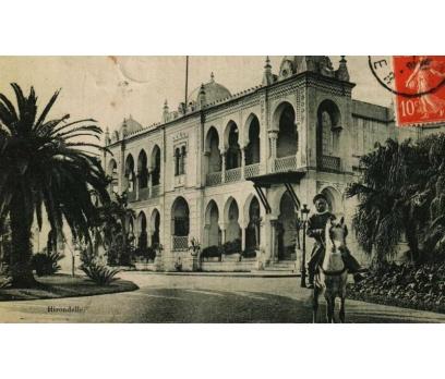 ALGER-MUSTAPHA  ** 1912 CEZAYİR PG KARTP. (130914)