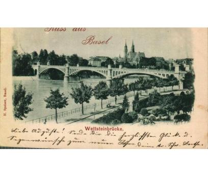BAZEL 1898  REICH  P.G. KARTPOSTAL (130914)