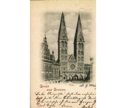 BREMEN 1898  REICH  P.G. KARTPOSTAL (130914)