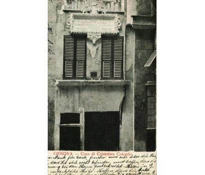 CENOVA ** 1905 İTALYA  PG KARTPOSTAL (130914)
