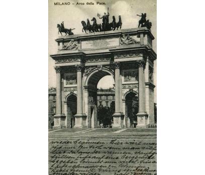 MİLANO ** 1908 İTALYA PG KARTPOSTAL (130914)