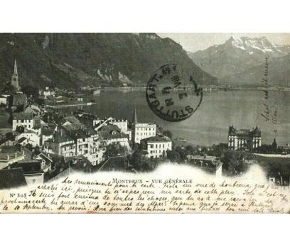 MONTREUX 1902 İSVİÇRE  PG KARTPOSTAL (130914)