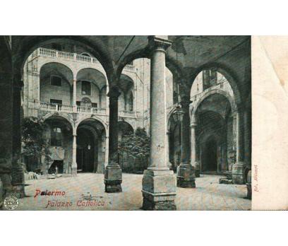 PALERMO ** 1908 İTALYA PG KARTPOSTAL (130914)
