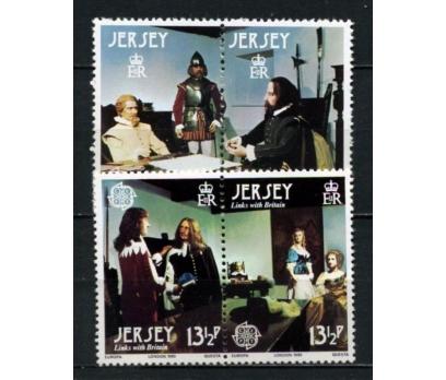 JERSEY ** 1980 EUROPA CEPT TAM SERİ (300914)
