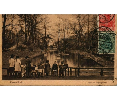 ESSEN & RUHR 1919 REICH P.G.İSTANBUL'A KP (011014)
