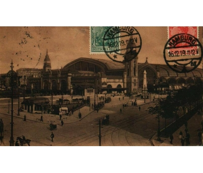 HAMBURG **1919 REICH P.G.İSTANBUL'A KP(011014)