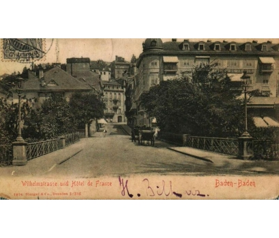 BADEN 1906 REICH P.G.İSTANBUL'A KP(011014)