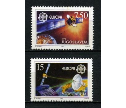 YUGOSLAVYA ** 1991 EUROPA CEPT TAM SERİ (021014)