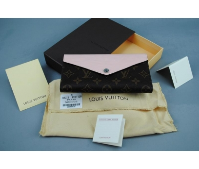LOUİS VUİTTON MARIE-LOU LONG WALLET TOZ PEMBE RENK