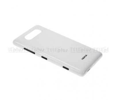 Nokia Lumia 820 Arka Pil Batarya Kapak Orjinal Beyaz