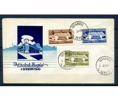 CUMH.FDC 1949 İSTANBUL SERGİSİ SÜPER(270215)