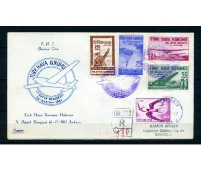THK FDC 1961 17.BÜYÜK KONGRE SÜPER (270215)
