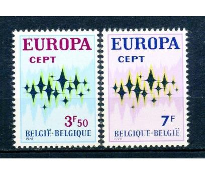 BELÇİKA ** 1972 EUROPA CEPT TAM SERİ (230315)