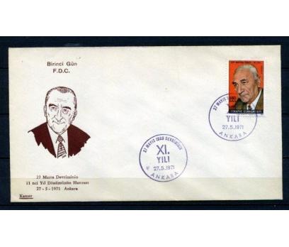 CUMH.FDC 1971 27 MAYIS DEVRİMİ KAMER SÜPER(150315)