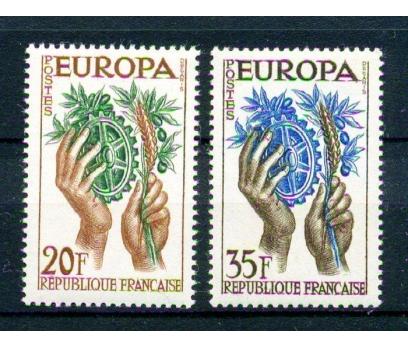 FRANSA ** 1957 EUROPA CEPT TAM SERİ (220315)
