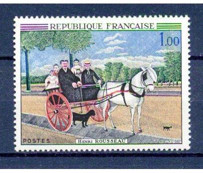 FRANSA ** 1967 TABLO & H.ROSSEAU TAM SERİ (290315)
