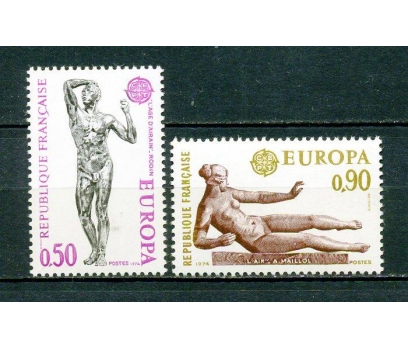 FRANSA ** 1974 EUROPA CEPT TAM SERİ (240315)