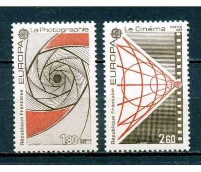FRANSA ** 1983 EUROPA CEPT TAM SERİ SÜPER (280315)